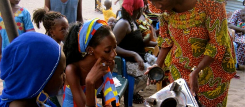 clean cooking workshop for african women